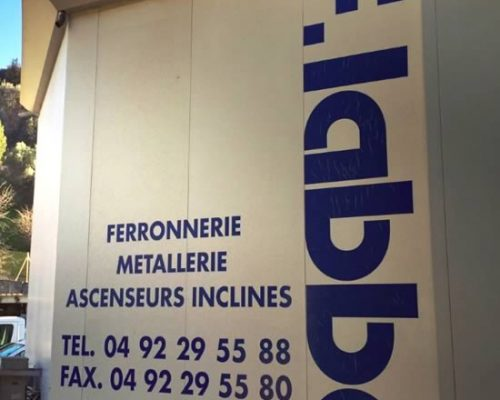 Ferronnerie à Nice - F.Labbé